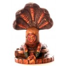 Shiva lingam 5,7 cm Resin coloured