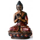 Vairocana Buddha Statue 11,5 cm Resin coloured