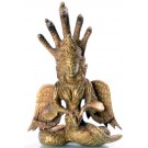 Naga Kanya 14 cm brass Statue