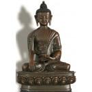 Akshobhya  21 cm oxidized Buddha Statue