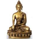 Akshobhya 20 cm  brass Buddha Statue
