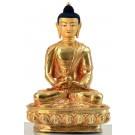 Amitabha 20 cm fully gilt Buddha Statue