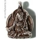 Silver Pendant Guru Rimpoche - Padmasambhava 25 mm