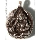 Silver Pendant Jambhala  25 mm
