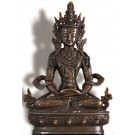 Aparimita - Amitayus 22 cm oxidized Buddha Statue