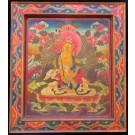 Monastry Thangka Jambhala - Kubera