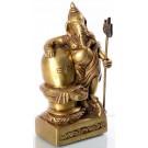 Ganesh with Lingam 15 cm