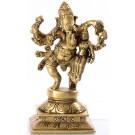 Ganesh with Shakti - 16 cm