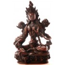 Green Tara Statue 20 cm Resin