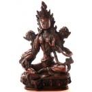 Green Tara Statue 20 cm Resin