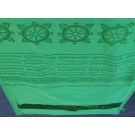 Khata, Kata - Ceremonial scarf green