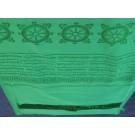 Khata, Kata - Ceremonial scarf green