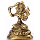 Manjushri 8 cm brass