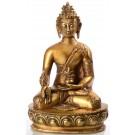 Medicine Buddha 32 cm Statue brass