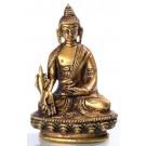 Medicine Buddha 8 cm brass
