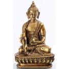 Medicine Buddha 14,5 cm brass