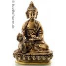 Medicine Buddha 9,5 cm brass