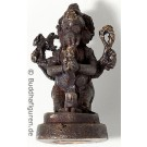 Statue mini Ganesh with lingam