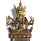 Vijaya - Unshinisvijaya - Namgyelma 24 cm partly gold plated