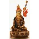 Padmasambhava 14 cm partly fire-gilded