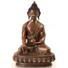 Ratnasambhava 15 cm oxidized Buddha Statue