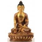 Ratnasambhava Buddha Statue 15 cm fire gilt