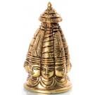Shiva-Heads 9 cm brass