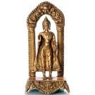 Buddha Standing  19 cm brass