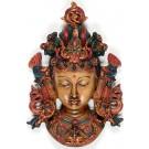 Tara Mask 22 cm Resin painted