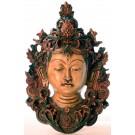 Tara Mask 29 cm Resin painted