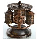 Table Prayer wheel 4 parts - 12 cm high