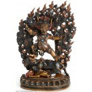 Vajrabhairava - Yamantaka  23 cm double coloured