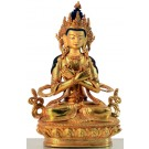 Vajradhara 22 cm fully fire-gilded Buddha Statue
