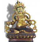 Virupaksa sitting Digpala 20 cm partly fire-gilded (gold plated)