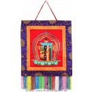 Wall hanging - Kalachakra 45 cm x 45 cm