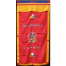 Door cover stitched - Kalachakra