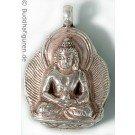 Silver Pendant Amitabha 25 mm
