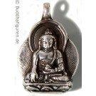 Silver Pendant Shakyamuni 25 mm