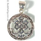 Silver Pendant Shrivasta 25 mm