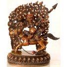 Palden Lhamo Statue 35 cm double coloured