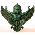 Garuda Mask Resin turquoise small