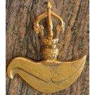 Kartika - curved knife brass 10 cm