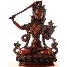 Manjushri Buddha Statue 20 cm Resin