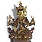 Vijaya - Unshinisvijaya - Namgyelma 24 cm partly gold plated 2