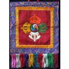 Wall hanging  Double Dorje 45 cm x 45 cm