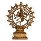 Shiva dancing - Nataraja 17,5 cm brass