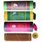 Tibetan Incense - Set of 3 Kamasutra- Lemmongrass- White Lotus