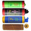 Tibetan Incense - Set of 3 Wild Flora - Bdellium - Nagchampa Insence