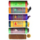 Tibetan Incense - Set of 5 Tibetan Wild Flora-Frank-Spikenard-Mokchhya-Kamasutra Incense