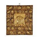 Votive Tablet - Kalachackra Tibetan Calender 44 cm x 39 cm